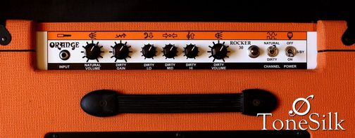 Orange Rocker 30 controls