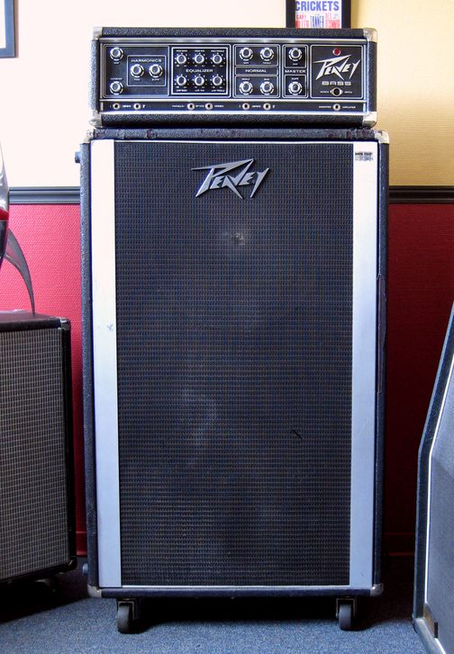 Peavey bass stack
