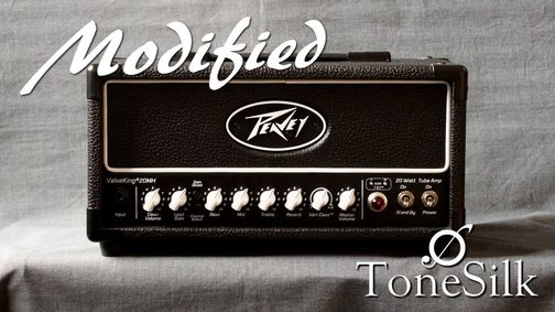modifications Peavey Valveking 20 mini head