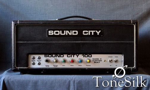 Sound City Custom 100 amp front